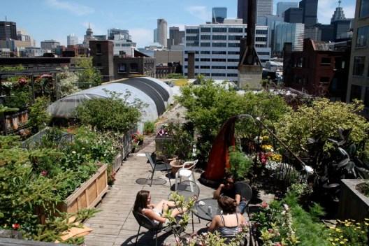 apartman bahçe