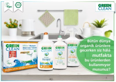 green clean bulasık