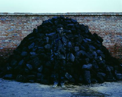 Hiding in the city-Liu Bolin